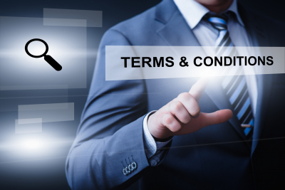 Terms and Conditions Agreement Service Business Technology Internet Concept